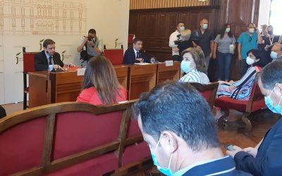 El Ministerio anuncia que apoyará que no se almacene aceite de fuera de España en los depósitos del Patrimonio