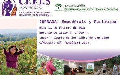 Jornada para mejorar los derechos de las mujeres rurales