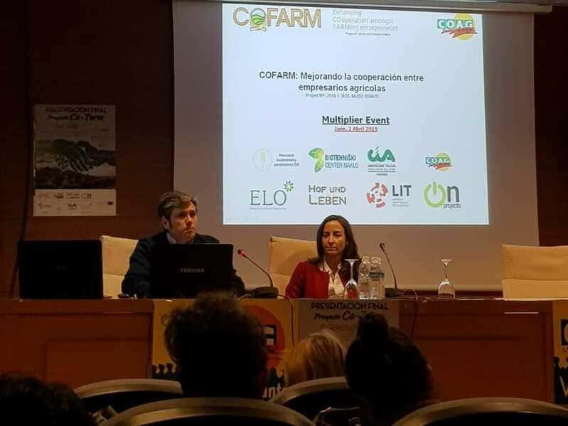 Resultados de los proyectos Erasmus+, FEAL y COFARM