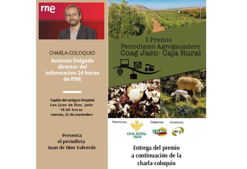 I Premio de Periodismo Agroganadero Coag Jaén-Caja Rural