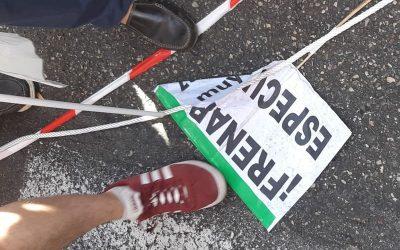 Concentración en Algeciras para exigir que se ponga fin a la competencia desleal