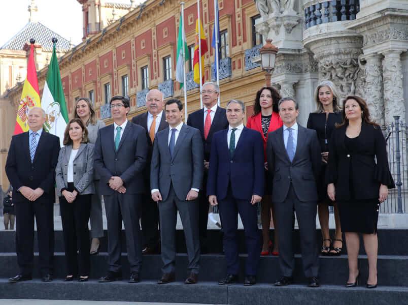 Nuevo Gobierno andaluz