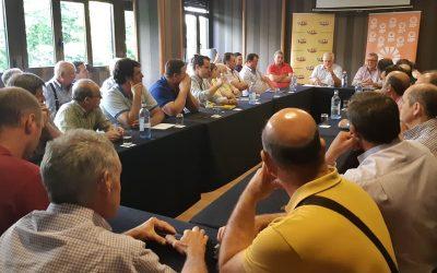 Manifestación en Sevilla por los bajos precios del aceite de oliva