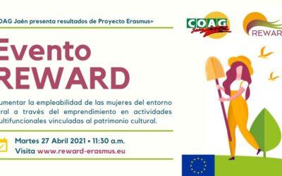 Conferencia final de REWARD, proyecto para aumentar el empleo de las mujeres rurales